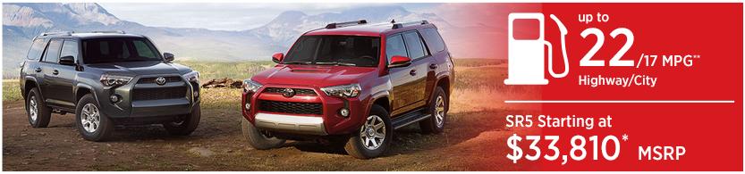 2016 Toyota 4Runner Mileage & MSRP