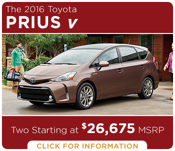 Click to learn more about the new Toyota Prius v model