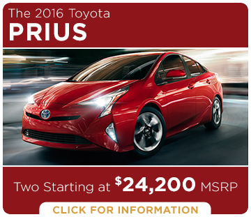 Click to learn more about the new Toyota Prius model
