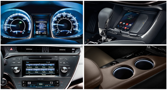 2016 Toyota Avalon Model Interior Style & Features