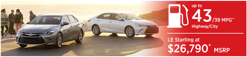 New 2016 Toyota Camry Hybrid Model Mileage & MSRP