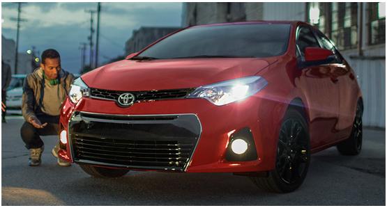 2016 Toyota Corolla Model Exterior Design