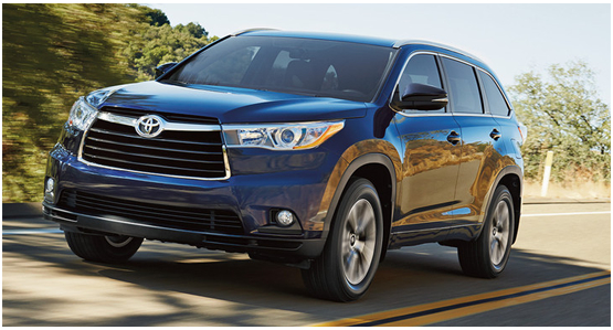 2016 Toyota Highlander Hybrid Model Exterior Design