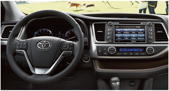 2016 Toyota Highlander Hybrid Model Interior Style & Features