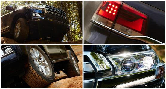 2016 Toyota Land Cruiser Exterior Features