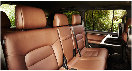 2016 Toyota Land Cruiser Interior Design
