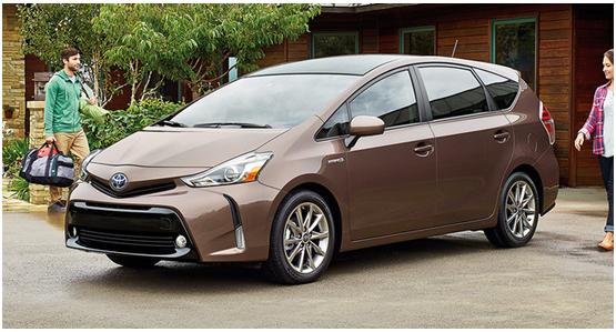 2016 Toyota Prius v Model Exterior Design