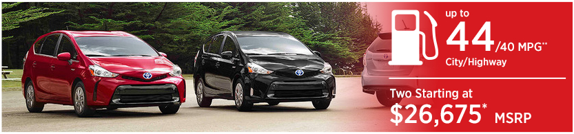 New 2016 Toyota Prius v Model Mileage & MSRP