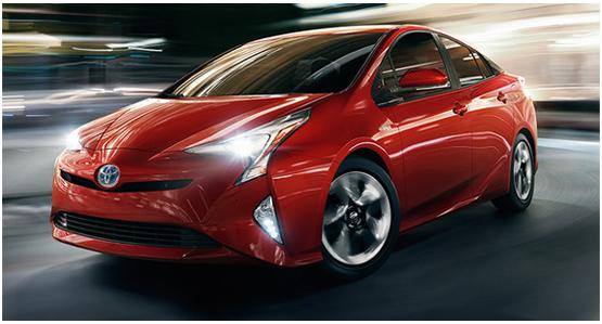 2016 Toyota Prius Model Exterior Design