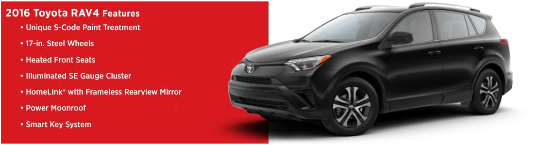 New 2016 Toyota RAV4 Model Features