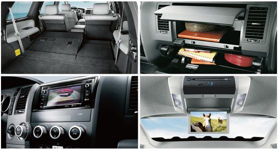 2016 Toyota Sequoia Interior Style & Featrues