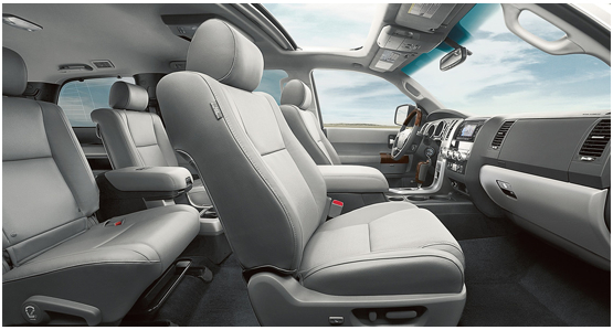 2016 Toyota Sequoia Interior Design