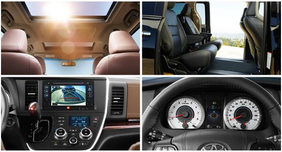 2016 Toyota Sienna Interior Style & Featrues