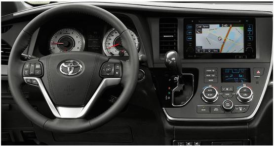 2016 Toyota Sienna Interior Design