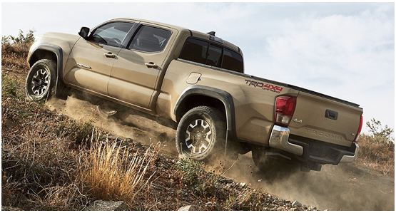 2016 Toyota Tacoma Model Exterior Design
