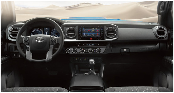 2016 Toyota Tacoma Model Interior Style & Features
