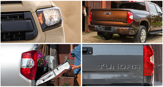 2016 Toyota Tundra Model Exterior Features