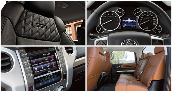 2016 Toyota Tundra Model Interior Style & Features