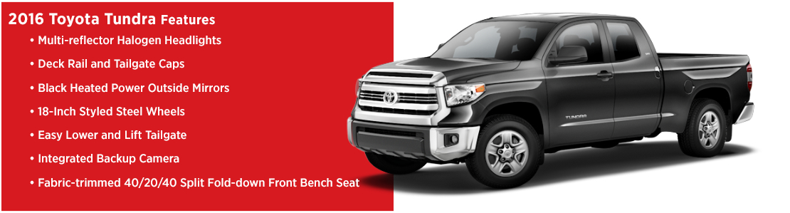 New 2016 Toyota Tundra Model Features