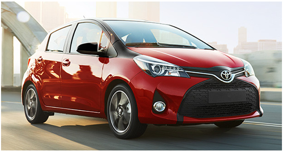 2016 Toyota Yaris Model Exterior Design