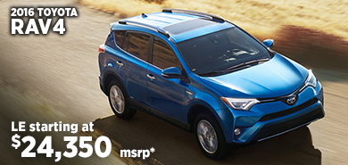 Click for 2016 Toyota RAV4 Model Information serving Salem, Oregon