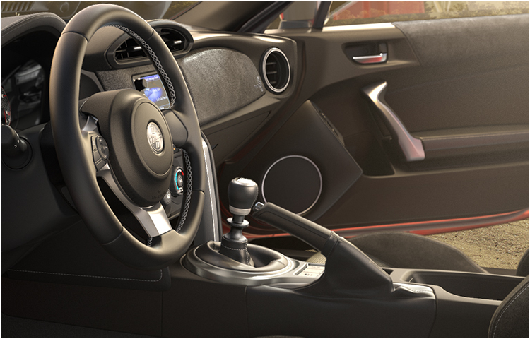 2017 86 Model Interior Styling