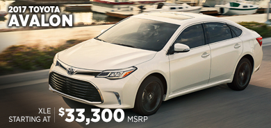 Click to research the 2017 Toyota Avalon model in Chicago, IL