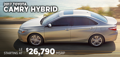 Click For New 2017 Toyota Camry Hybrid Model Information in Lincolnwood, IL