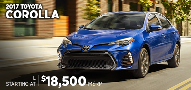 Click For New 2017 Toyota Corolla Model Information in Chicago, IL