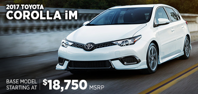 Click to research the 2017 Toyota Corolla iM model in Chicago, IL