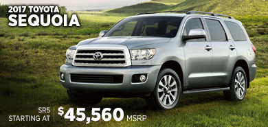 Click to research the new 2017 Toyota Sequoia model in Chicago, IL