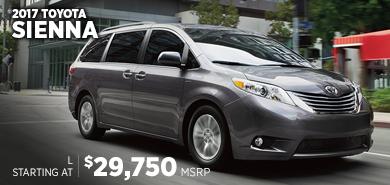 Click to research the new 2017 Toyota Sienna model in Chicago, IL