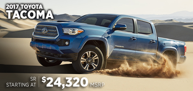 Click For New 2017 Toyota Tacoma Model Information in Chicago, IL