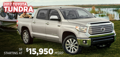 Click For New 2017 Toyota Tundra Model Information in Lincolnwood, IL
