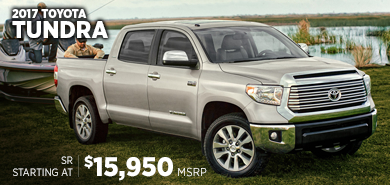 Click to research the new 2017 Toyota Tundra model in Chicago, IL