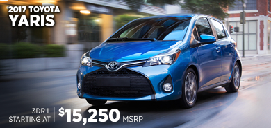 Click to research the 2017 Toyota Yaris model in Chicago, IL