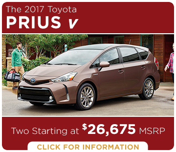 Click to learn more about the new 2017 Toyota Prius v model