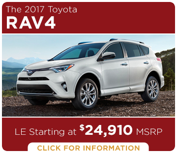 Click to learn more about the new 2017 Toyota RAV4 model
