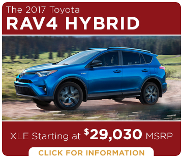 Click to learn more about the new 2017 Toyota RAV4 Hybrid model