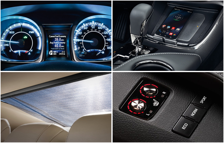 2017 Toyota Avalon Interior Styling