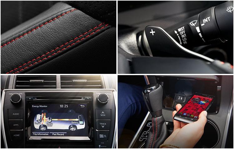 2017 Toyota Camry Hybrid Interior Styling