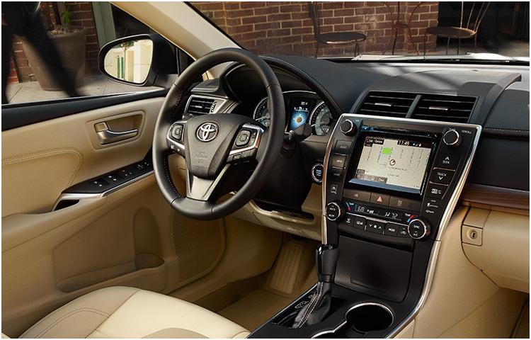 2017 Camry Hybrid Interior Styling