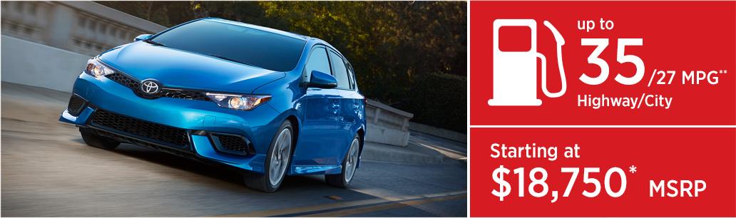 2017 Toyota Corolla iM MSRP