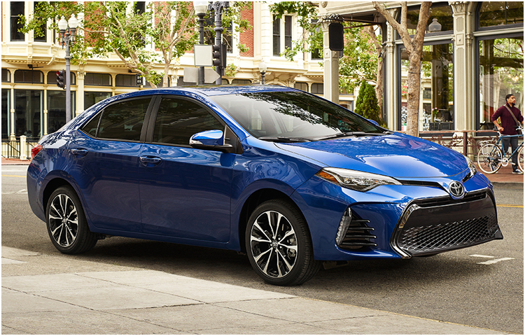 2017 Toyota Corolla Exterior Styling