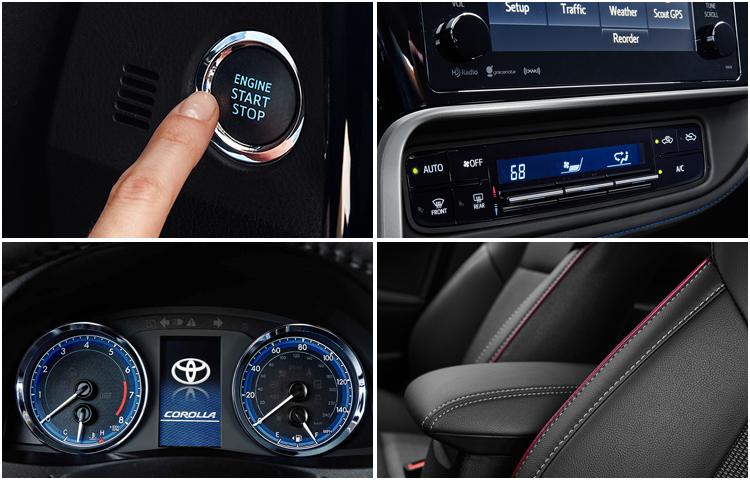 2017 Toyota Corolla Interior Styling