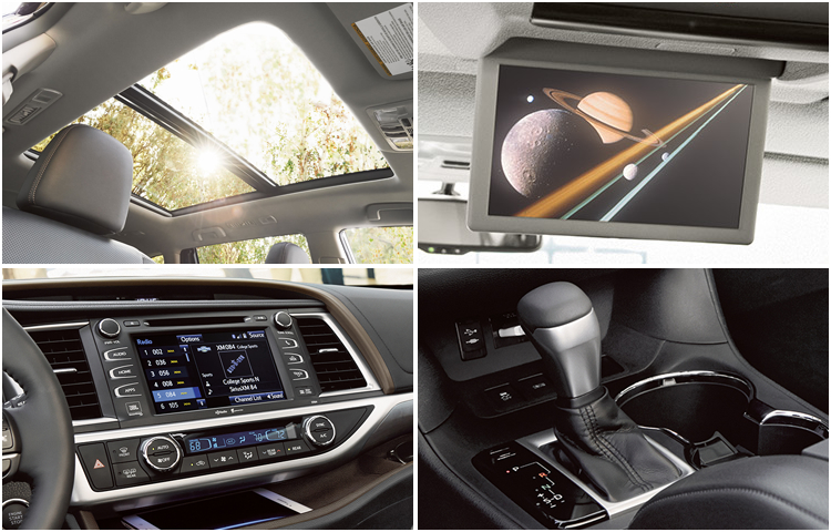 2017 Toyota Highlander Interior Styling