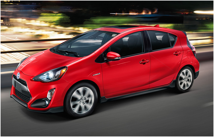 2017 Toyota Prius C Hatchback Exterior Styling