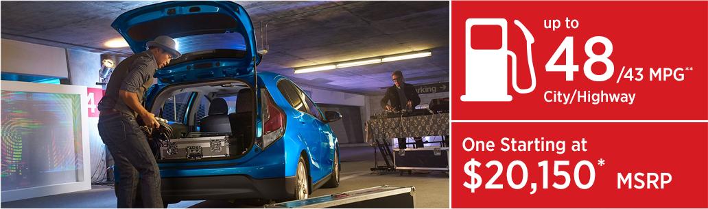 2017 Toyota Prius C Hatchback MSRP & MPG