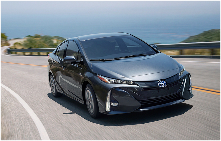 New 2017 Toyota Prius Prime Model Exterior Styling