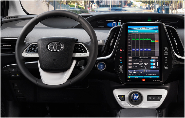 2017 Prius Prime Model Interior Styling